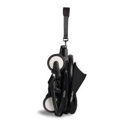Poussette YOYO2 6+ – Noir, châssis noir