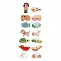 Puzzle – J'aime mes animaux de compagnie