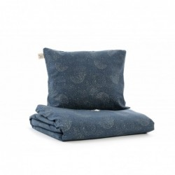 Parure de lit – Himalaya – Bulle d'or / Bleu Nuit