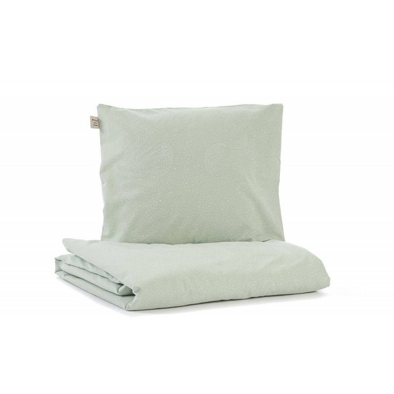 Parure de lit – Himalaya – Bulle blanche / Aqua