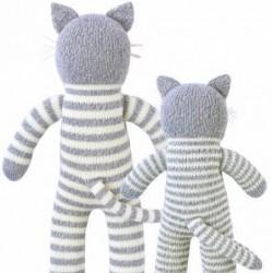 Petite peluche en tricot – Pepper le chat