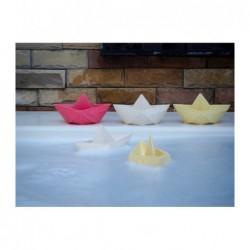 Jouet – Petit bateau origami – Menthe
