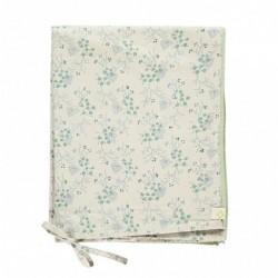 Housse de couette 140×200 – Taie d'oreiller 75×50 – Minako Floral Bleuet