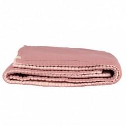 Couverture Réversible – Blush/rose perle – 140×200