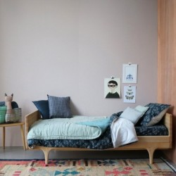 Couverture Réversible – vert pâle/Menthe – 140×200