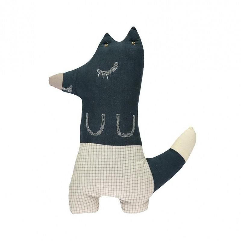 Peluche – FOXY le renard bleu minuit