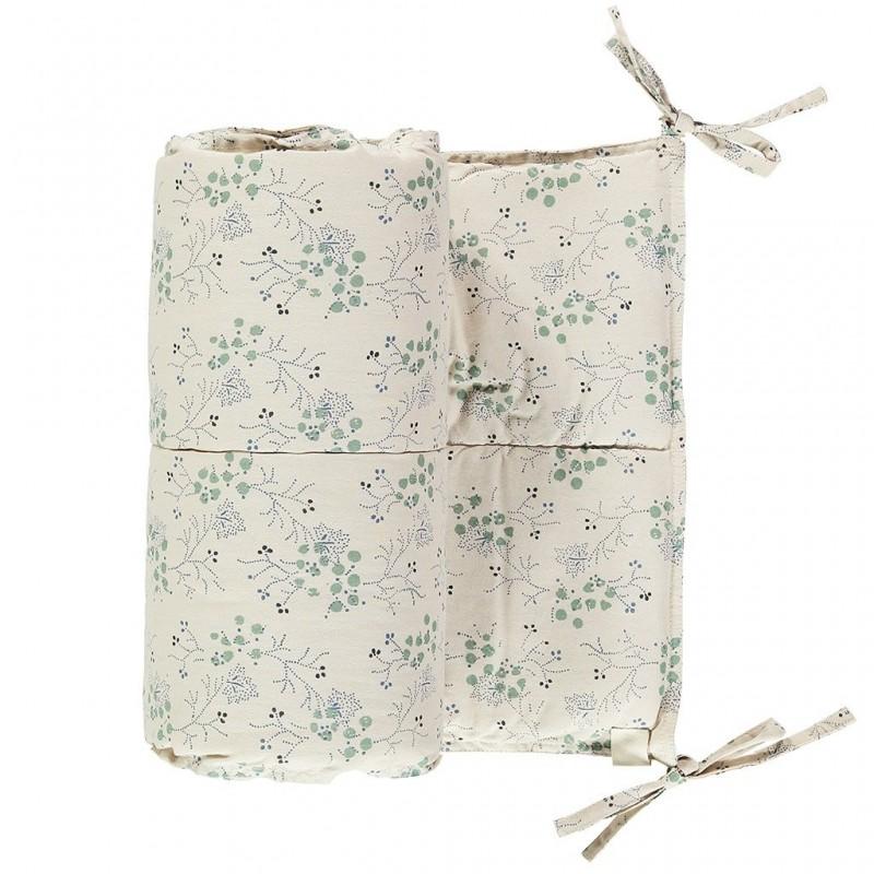 Tour de lit –  Minako Floral Bleuet