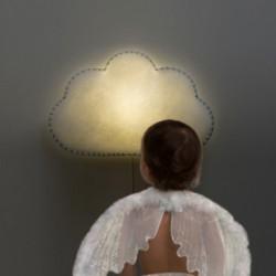 Veilleuse – lampe murale – Nuage – (Bleu/Rose/Gris/Jaune)