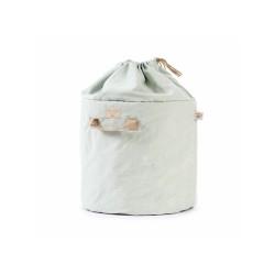 Sac de rangement – Bamboo – White Bubble – Aqua