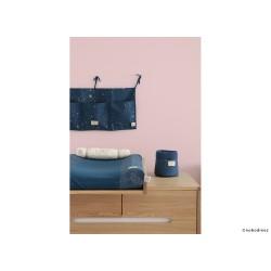 Panier – Panda – Bleu nuit / Nid d' abeille