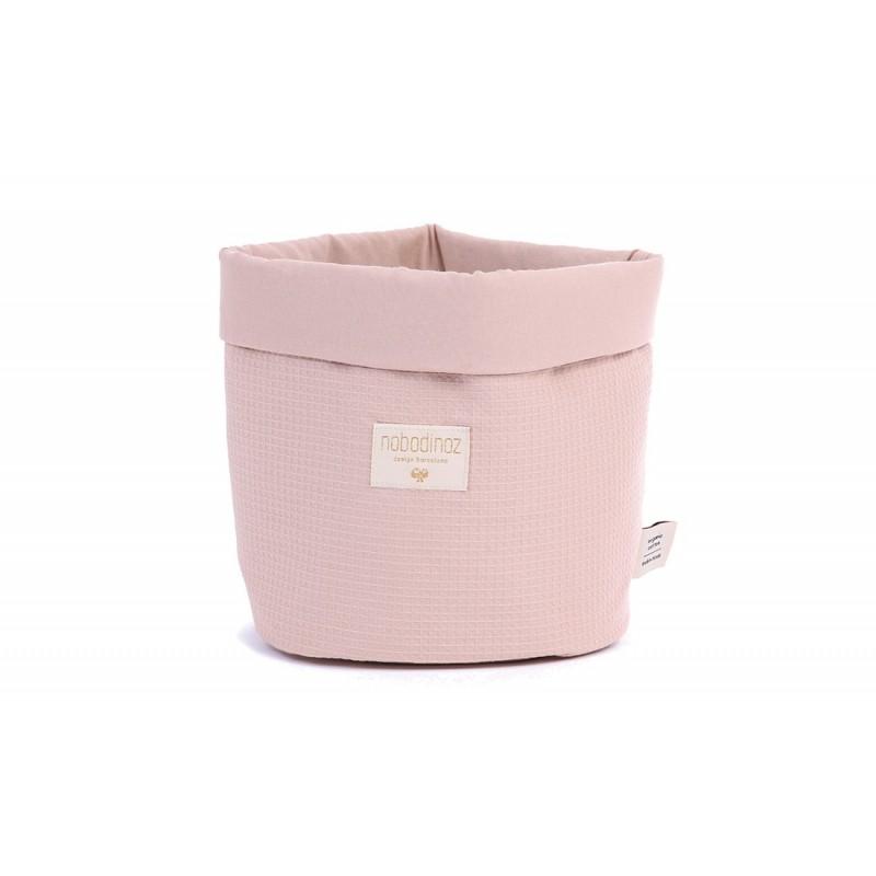 Panier – Panda – Misty Pink / Nid d' abeille
