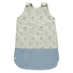 Gigoteuse d'hiver – 6-18 mois – Minako Floral Bleuet
