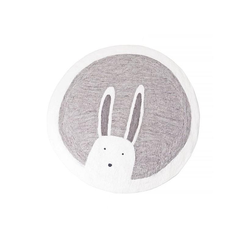 Tapis rond Ø120 cm – Pasu – Bunny Pierre