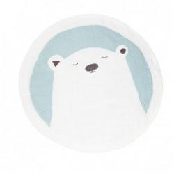 Tapis rond Ø120 cm – Pasu – Grizzly Jade