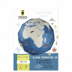 Kit Mon Globe Terrestre + Stickers