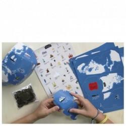 Kit Mon Globe Terrestre + Stickers