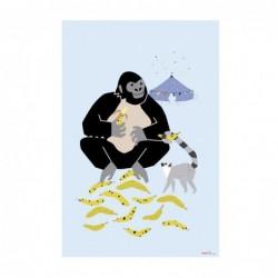 Affiche Gorilla