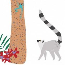 Sticker – Dans la jungle