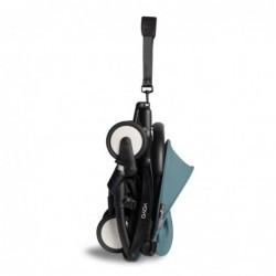 Poussette YOYO2 6+ – Aqua, châssis noir