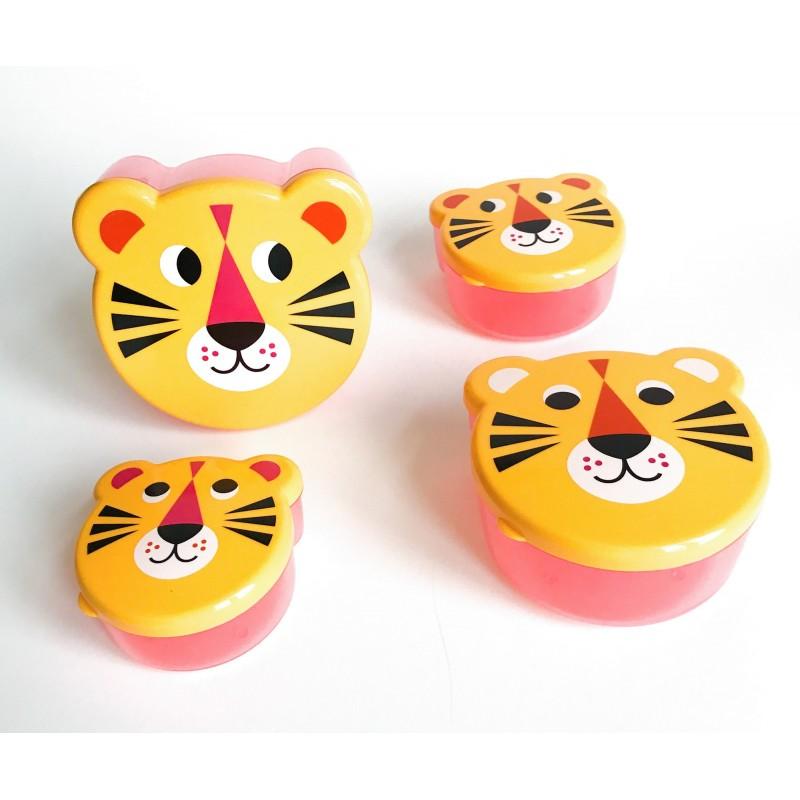 Set de boites de gouter – Tigres