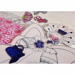 Kit – Princesse des continents – haute couture