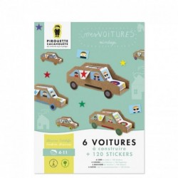 Kit Mes Voitures + stickers