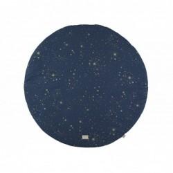 Tapis de jeux Ø 105 – Full Moon – gold stella – Night Blue