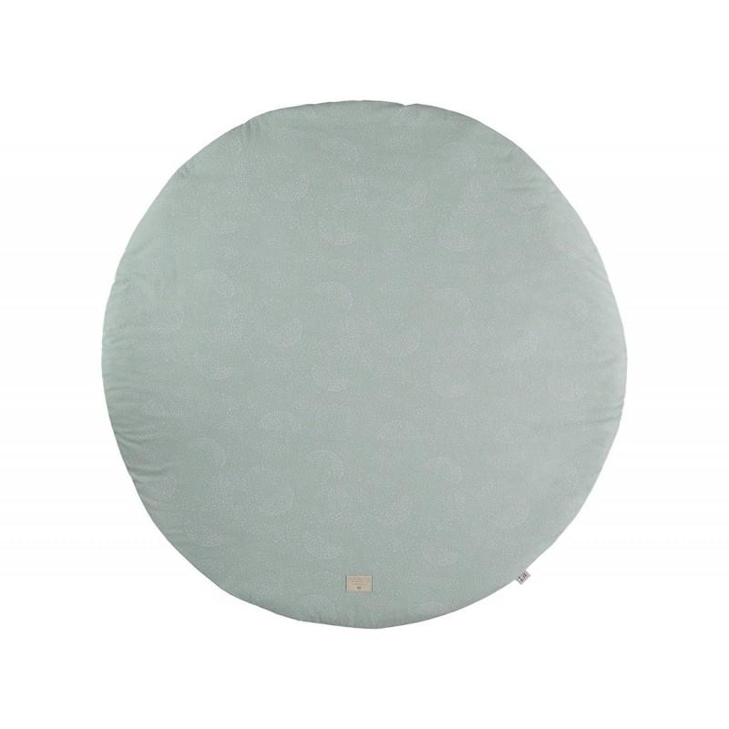 Tapis de jeux Ø 105 – Full Moon – white bubble aqua