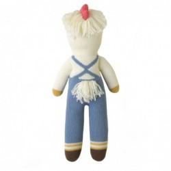 Petite peluche en tricot – Benedict le poussin