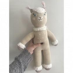 Petite peluche en tricot – Picchu the Alpaca