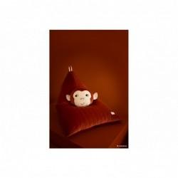 Coussin en velours – Monkey
