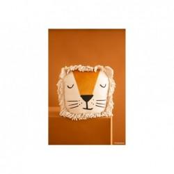 Coussin en velours – Lion