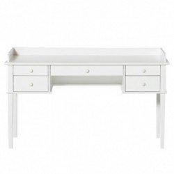Bureau junior blanc – 5 tiroirs