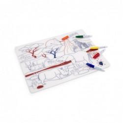 Set de table à colorier – Savanne