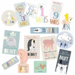 Stickers – Babycards – français