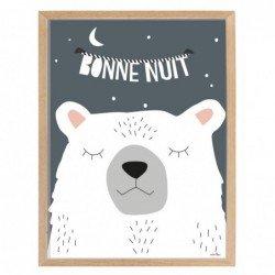 Affiche et cadre – bonne nuit