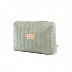 Trousse de toilette Travel 18x25x7 Blanc Gatsby – vert antique