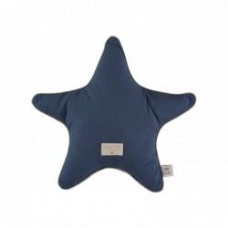 Coussin Aristote étoile – 40×40 – Bleu nuit