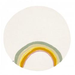 Round rug Ø120 cm – Indreni...
