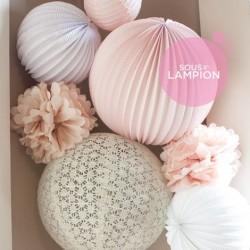 Paper Lanterns kit - Amélie
