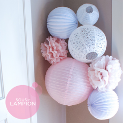 Paper Lanterns kit - Julie