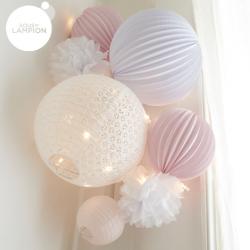 Paper Lanterns kit - Louison