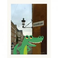 Affiche - Le crocodile