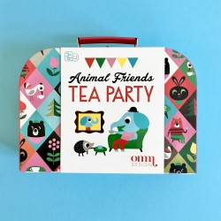 Tin Tea Set - Animals