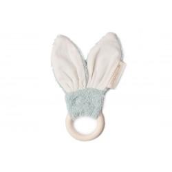 Teether Ring - Bunny - Green