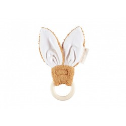 Teether Ring - Bunny - Caramel