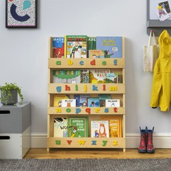 Bookcase - with alphabet -...