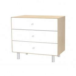 Commode Merlin – Bouleau – 3 tiroirs