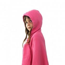Kids Hooded Towel - Flamingo