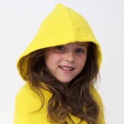 Kids Hooded Towel - Lemon